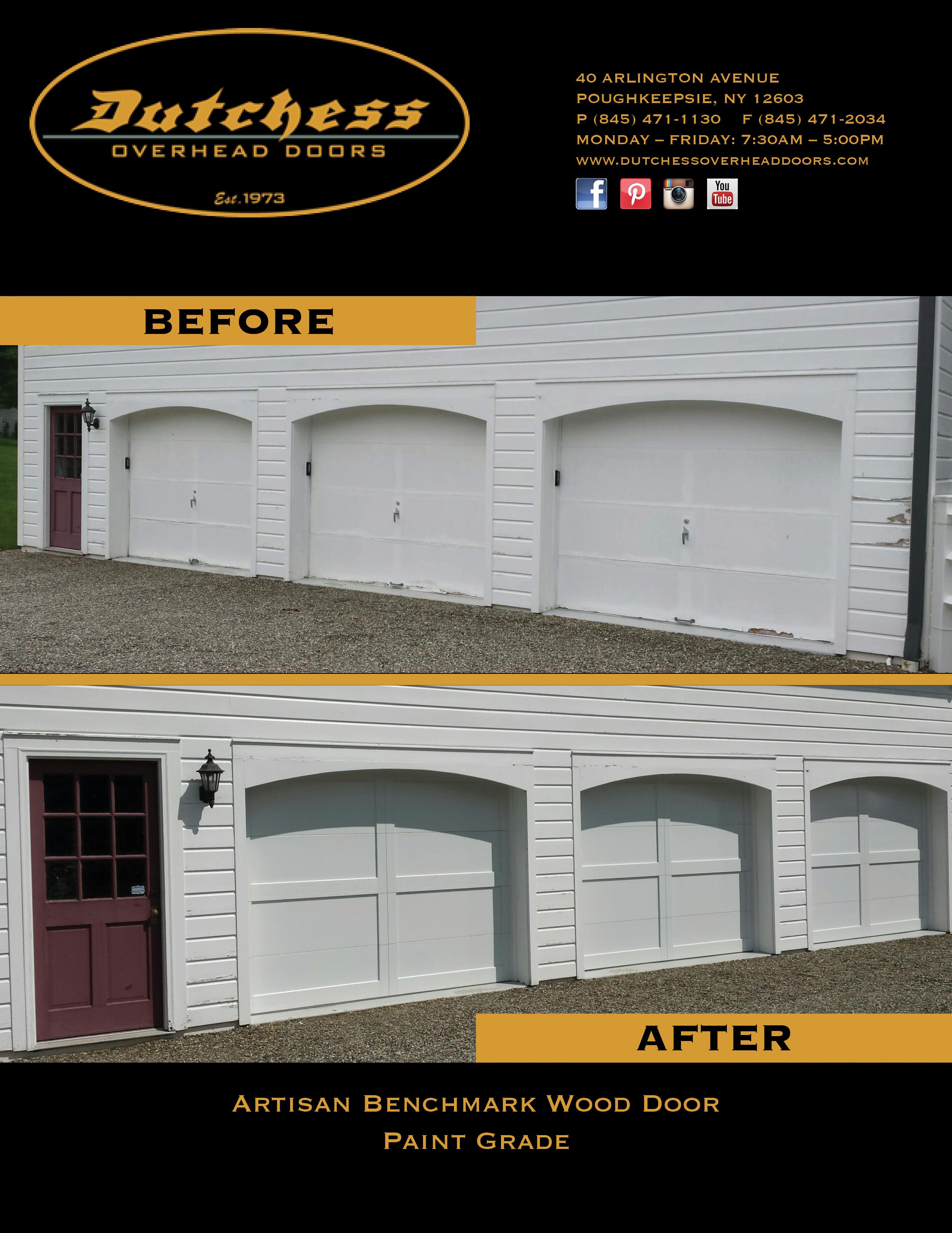 Artisan Benchmark Wood Door Paint Grade Saugerties
