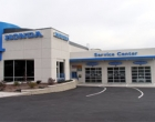 Commercial Overhead Door Honda Dealership Rockland County Exterior