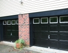 Raynor Showcase Opti-Color Colonial Overhead Doors Black 10501