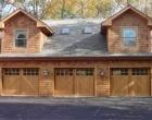 Square Top Artisan Custom Doorworks Wood Carriage House Doors