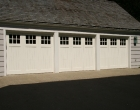 Square Top Artisan Custom Doorworks Wood Carriage House Doors Westchester County