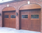 Arched Artisan Custom Doorworks Wood Carriage House Doors Pound Ridge