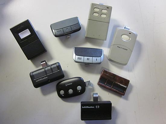 Garage Door Remotes (2)
