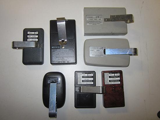 Garage door Remote Part Numbers (2)